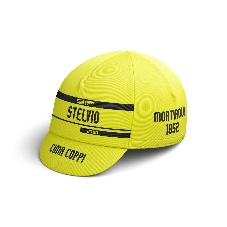 Cappello Stelvio giallo